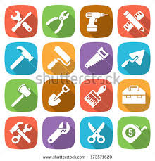 tools icon. trendy flat working tools icons. vector illustration icon