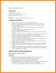 Electrical Apprentice Resume Samples Resume For Apprentice Electrician Zaloy Carpentersdaughter Co