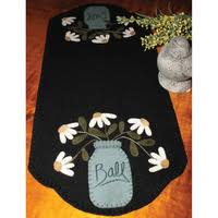 Table Runner Kits - Sewing - Quilting & JUST PICKED WOOLFELT TABLE RUNNER KIT Adamdwight.com