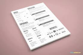 Resume Template Ai Design Resume Template Awesome Graphic Designer Resume Template 39