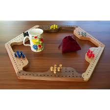 Wooden Peg Board Game Handmade 100 Player Pegs and Jokers Board Game Jokers and Pegs 25