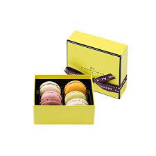 macarons gift box 6 pieces la maison