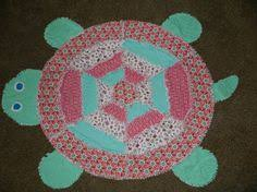 Turtle Rag Quilt (GC) | My Creations | Pinterest | Rag quilt &  Adamdwight.com
