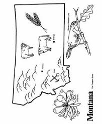 Small Picture Illinois State outline Coloring Page States coloring Pinterest