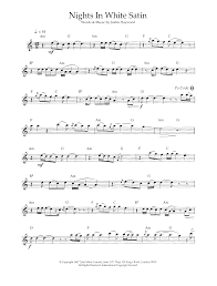 sheet music direct us nights in white satin sheet music direct