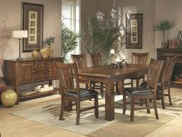 mission style dining room set gorgeous white oak dining room table enhances this craftsman style ashley