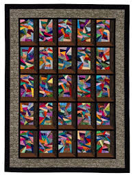 125 best Quilts - Stained Glass images on Pinterest | Candies ... & Attic Windows quilt with fractured stained glass blocks, in: Stash Magic by  Jaynette Huff (Martingale) -- I love this pattern. Adamdwight.com