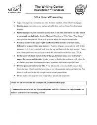 Mla Letter Format Best Business Template