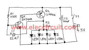 rc led light wiring diagram rc wiring diagrams car fast blinking led bike light circuit eleccircuit com led wiring diagram