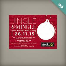 Corporate Holiday Party Invite Jingle Mingle Corporate Holiday Party Invitations