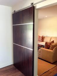 contemporary sliding barn door | An Original Custom Cabinets