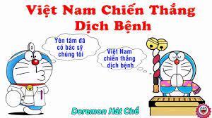 Việt Nam Chiến Thắng Dịch Bệnh Chế Mong Kiếp Sau Vẫn Là Anh Em - Trung Xá  Lụ - [Doremon Hát Chế] - YouTube