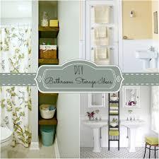 Diy Bathroom Storage Diy Bathroom Storage Ideas O Nongzico
