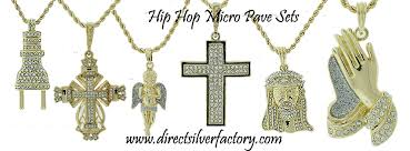 whole hip hop micro pave sets