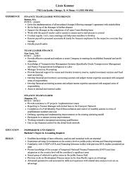 Leadership Examples For Resume Free Letter Templates
