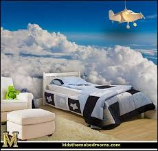 Exceptional Airplane Bed Airplane Theme Bedroom   Aviation Themed Bedroom Ideas    Airplane Bed   Airplane Murals