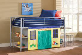 loft bed w play tent curtain magnifier