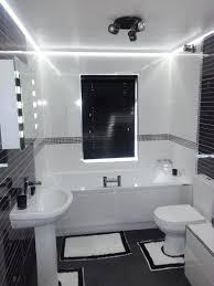 Led Bathroom Vanity Lights Led Bathroom Ceiling Lighting Black And - Led bathroom vanity
