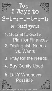 Budgeting For A Family Of 4 5 Ways To S T R E T C H A Budget How A Family Of 6 Lives On A