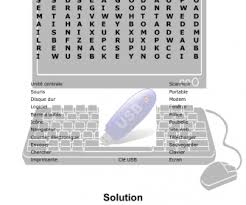computers and internet worksheets french english computer terms word search 1