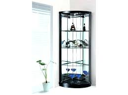 Corner Glass Cabinet Display  Storage Cases   For Sale88