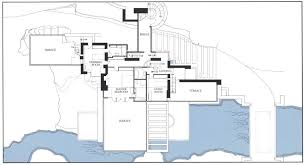 Gallery Of AD Classics Fallingwater House  Frank Lloyd Wright  9Falling Water Floor Plans