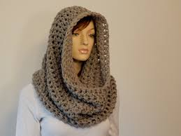 Crochet Pattern Pdf The Aurora Cowl Over The Head Chunky Cowl