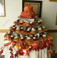 fall wedding cupcakes. Simple Cupcakes Fall Wedding Cupcake Tower On Cupcakes N