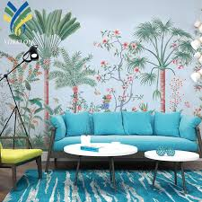 Ykws 014 New Design Banana Leaf Wall ...