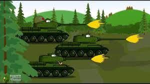 World of Tanks - Tiger Fight Tập 1 | phim hoạt hình về xe tăng ...