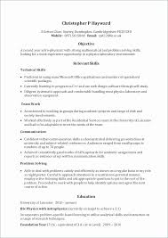 Awesome Objective For Lab Technician Resume Resume Design