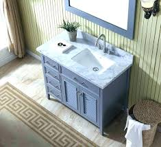 Bathroom Vanities Lights Extraordinary Right Offset Bathroom Vanity Single Sink Vanity Set W Right Offset