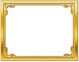 frame. Frame Gold Background Transparent Image #28903