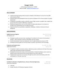 Entry Level Qa Tester Resume Examples Internationallawjournaloflondon