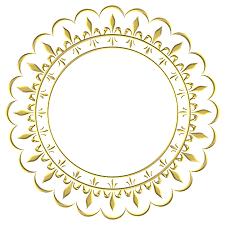 gold frame border png. Plain Border Gold Frame Round Border Decoration Decor Inside Gold Frame Border Png A