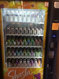 Shasta Vending Machine New Shasta Vending Machines 48 Each Can And A Good Selection Of Diet