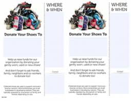 Shoe Drive Flyer Template Shoe Drive Materials Shoes With Heart