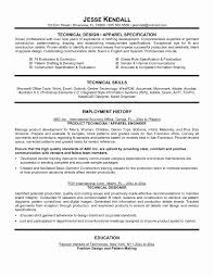 Technical Resume Template Project Scope Template How To Create ...