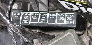 photo guide to the z32 fuses 1990 300Zx Fuse Box at 300zx 1996 Fuse Relay Box