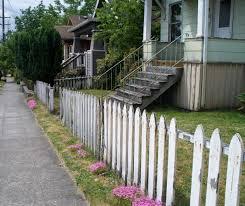 35 Best Of White Picket Privacy Fence Syedsaleemshahzadcom