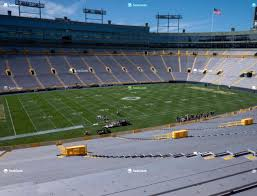 Lambeau Field Section 127 Seat Views Seatgeek