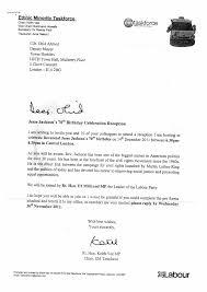 Celebration Letter Sample Invitation Letter For Birthday Celebration Valid Sample 16