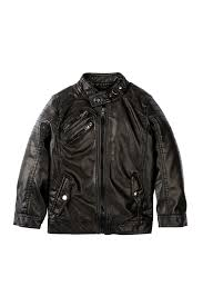image of urban republic faux leather moto jacket baby boys