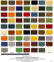 Rain Or Shine Elastomeric Paint Color Chart