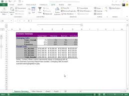 How To Produce A Summary Report In Excel 2013 Dummies