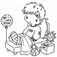 Small Picture Get Well Soon Baby Coloring Pages Get Well Cards Printable