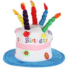 Amazoncom Home X Plush Happy Birthday Cake Hat Celebrate In