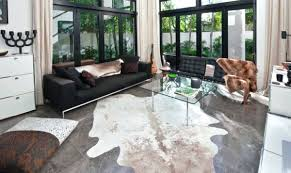 faux cowhide patchwork black white contemporary home interior revisited cow skin rug ikea inspirational cool rugs innovative design from cow skin