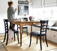 pottery barn dining dining table pottery barn dining room chair cushions