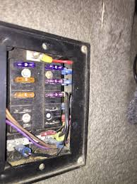 2004 tracker fuse box before and after pictures logged 2004 bass tracker